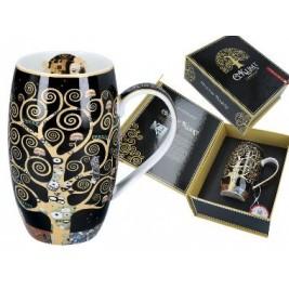 Kubek beczka 700 ml - Gustav Klimt Drzewo
