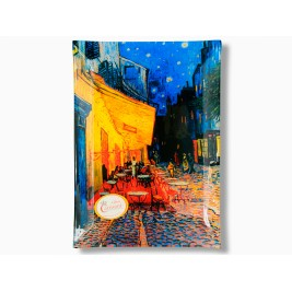 Talerz dekoracyjny -Vincent Van Gogh The cafe terrace on the palace du forum - 16x30