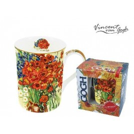 Kubek Classic New 400 ml - Vincent Van Gogh Maki w wazonie