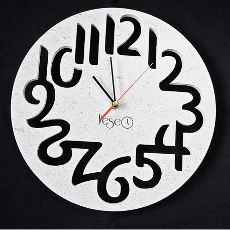 VESEO zegar granitowy-kamień naturalny