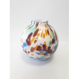 GLASS wazon kula 15 cm