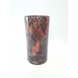 GLASS wazon cylinder 25 cm