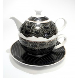BOGUCICE ARTE zestaw czajniczek z filiżanką 300 ml