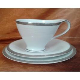 BOGUCICE zestaw do herbaty 6/12 ANTONIO PLATIN