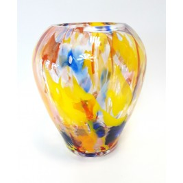 GLASS wazon 22 cm