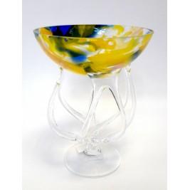 GLASS świecznik (paterka,krzak) 15 cm