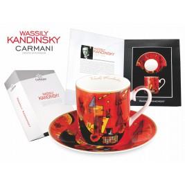 Filiżanka ze spodkiem 250 ml - Wassily Kandinsky