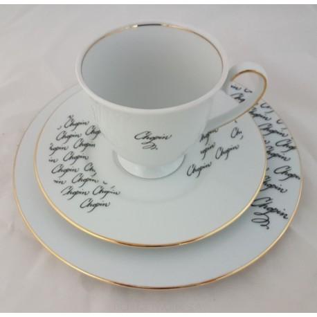 BOGUCICE Fryderyk Chopin zestaw śniadaniowy dla 1 osoby 3 elementy
