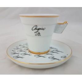 BOGUCICE Fryderyk Chopin filiżanka ze spodkiem espresso