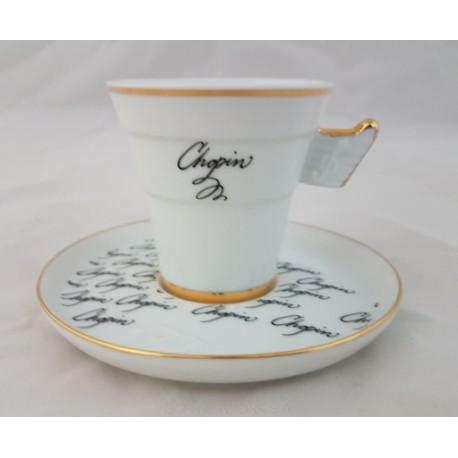 BOGUCICE Fryderyk Chopin filiżanka ze spodkiem espresso 80 ml