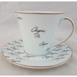 BOGUCICE Fryderyk Chopin kubek ze spodkiem 300 ml
