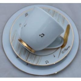 BOGUCICE Ignacy Paderewski zestaw śniadaniowy dla 1 osoby 3 elementy