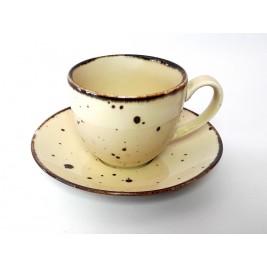 Porcelana Alumina Cottage Nut Filiżanka ze spodkiem 300 ml