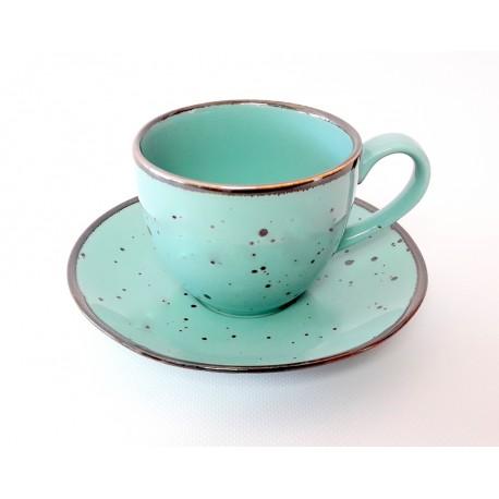 Porcelana Alumina Cottage Tiffany Filiżanka ze spodkiem 300 ml