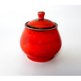 Porcelana Alumina Nostalgia Red Cukiernica 300 ml
