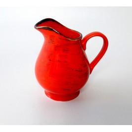 Mlecznik 250 ml Nostalgia Red  Porcelana Alumina