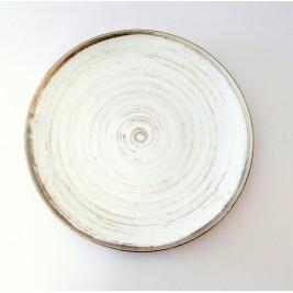 Talerz płytki 28 cm Nostalgia White Porcelana Alumina