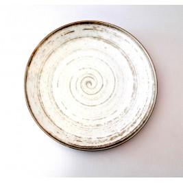 Talerz płytki deserowy 22 cm Nostalgia White Porcelana Alumina