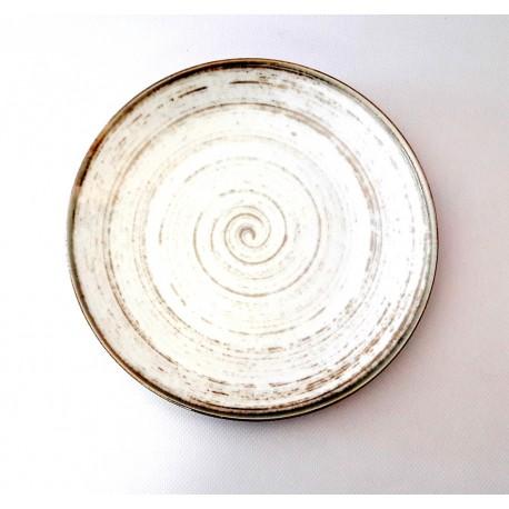 Porcelana Alumina Nostalgia White Talerz płytki deserowy 22 cm