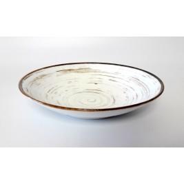 Talerz głęboki 22 cm Nostalgia White Porcelana Alumina