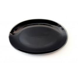 Porcelana Alumina Cottage Black Półmisek owalny 31 cm