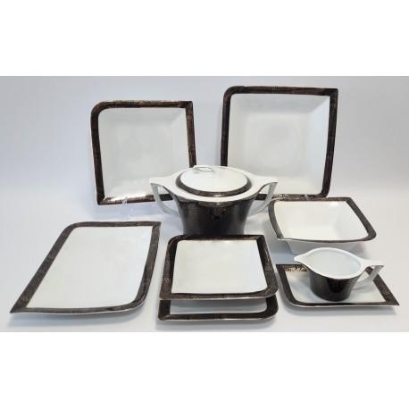 BOGUCICE PANAMA Serwis obiadowy dla 12 osób 42 elementy
