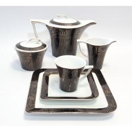 BOGUCICE PANAMA Serwis kawowo-herbaciany dla 12 osób 27 elementów