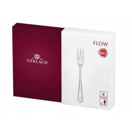 GERLACH Flow widelczyki do ciasta dla 6 osób połysk