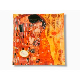 Talerz dekoracyjny - Gustav Klimt  The Kiss 25x25