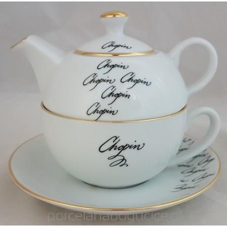 BOGUCICE Fryderyk Chopin Zestaw czajniczek z filiżanką 300 ml