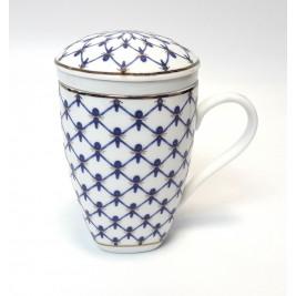 Kubek z zaparzaczem 300 ml Swietłana Porcelana Bogucice
