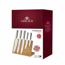 Zestaw noży kuchennych z deską magnetyczną Ambiente Magnetic Gerlach