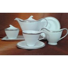 Serwis do herbaty Antonio platin