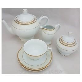 Serwis do herbaty Madera gold