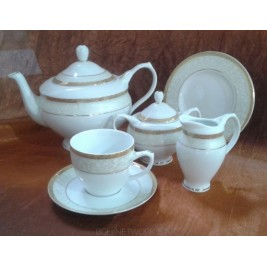 Serwis do herbaty Agawa gold