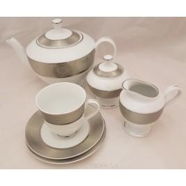 Serwis do herbaty Opal platin