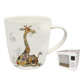 Kubek 450 ml - Bug Art - Giraffe Porcelana Łódź